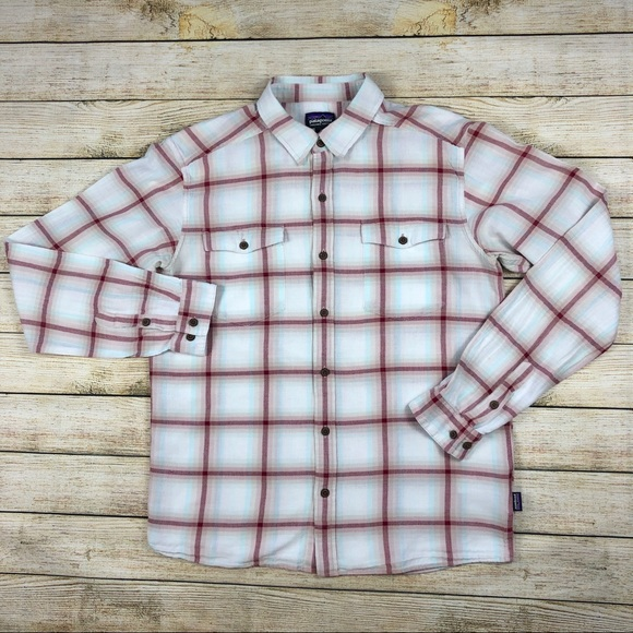 Patagonia Other - Patagonia Organic Cotton Plaid Long Sleeve M Shirt